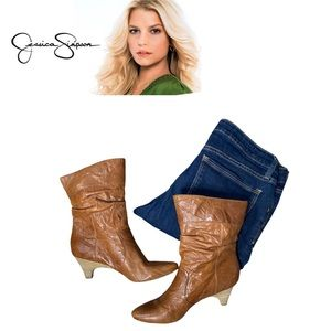 Vintage Jessica Simpson Slouch Boots
